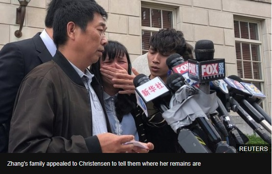 Yingying Zhang: US man sentenced to life for Chinese students murder