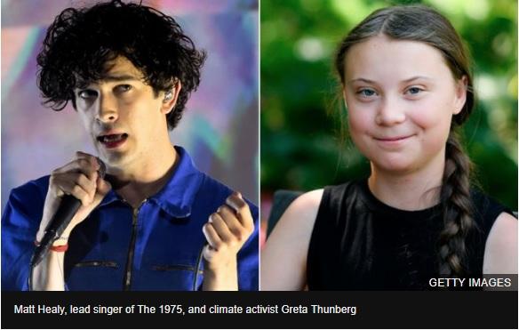 The 1975: Greta Thunberg writes climate essay for new album
