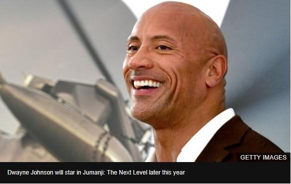 Dwayne Johnson tops Forbes highest paid actors list again