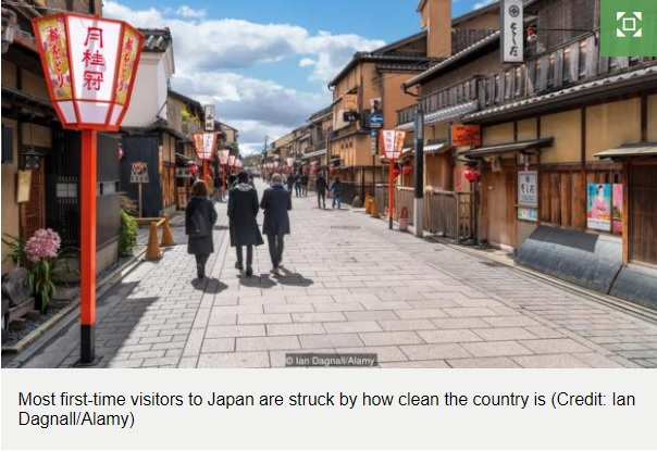 What Japan can teach us about cleanliness