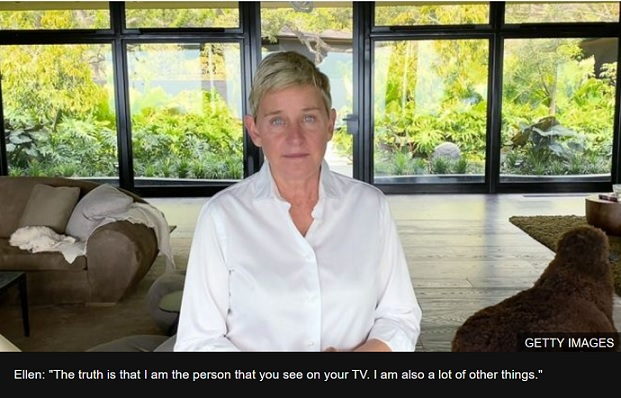 Ellen DeGeneres: Humbled host returns to TV with apology and admission