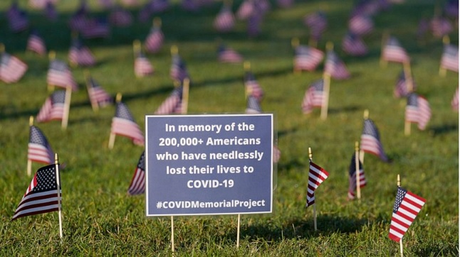 200,000 American lives lost from COVID-19