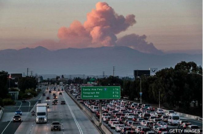 Global warming driving California wildfires