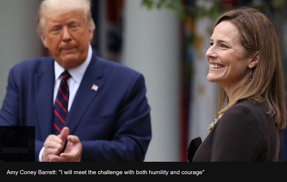 Amy Coney Barrett: Trump nominates conservative favourite for Supreme Court