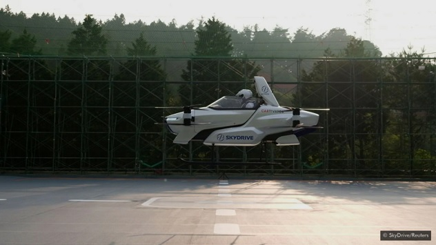 The flying car is here – and it could change the world