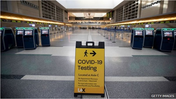 Coronavirus: CDC urges Americans not to travel for Thanksgiving