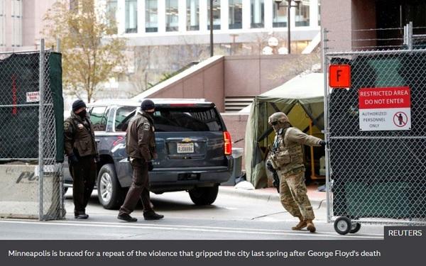 George Floyd: US city on edge as jury deliberates Chauvin verdict
