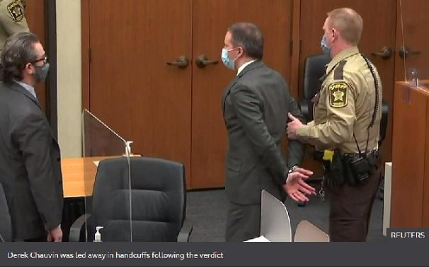 George Floyd: Jury finds Derek Chauvin guilty of murder